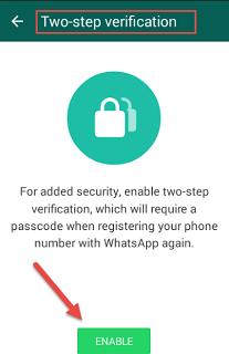 تعرف على ميزة الأمان الجديدة فى تطبيق واتساب (التحقق بخطوتين) وكيفية تفعيلها