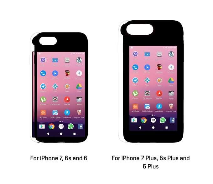 مشروع يتيح الجمع بين نظام اندرويد و iOS في هاتف الآيفون - Eye