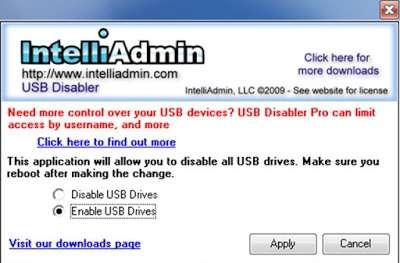 كيفية إظهار او تعطيل منافذ USB في الويندوز بثلاث طرق مختلفة