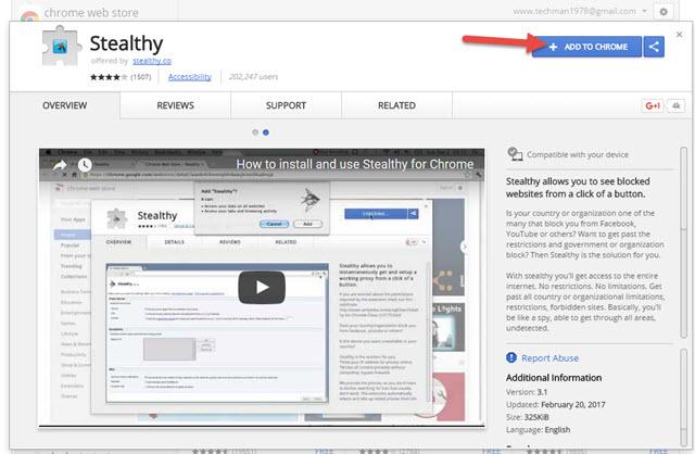كيفية فتح المواقع المحجوبة فى بلدك عن طريق متصفح جوجل كروم