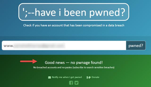 اكتشف هل تم سرقة وتسريب بياناتك ومعلوماتك علي الانترنت ام لا