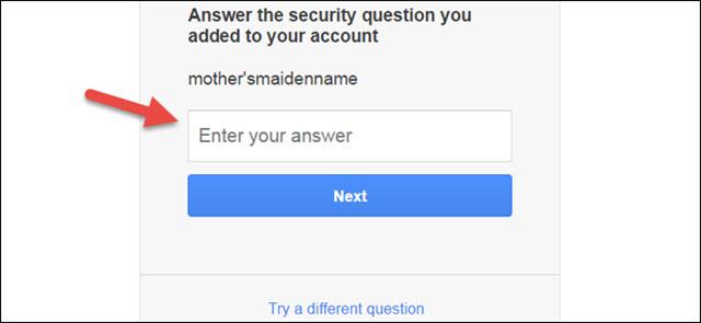 شرح كيفية إسترجاع كلمات المرور فى ايميل جي ميل Gmail Password