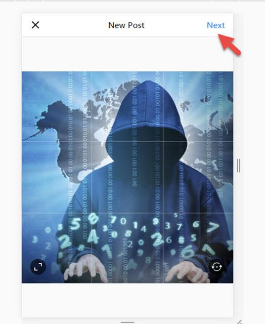 كيف تنشر على حسابك فى الانستاجرام من متصفح جوجل كروم فى الكمبيوتر