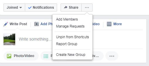 كيف تقوم بإبلاغ الفيس بوك عن مجموعة ما غير لائقة
