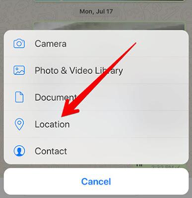 كيفية استخدام ميزة تتبع مكان اصدقائك الجديدة في واتساب Live Location Tracking