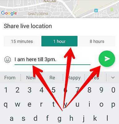 كيفية استخدام ميزة تتبع المكان لايف الجديدة في واتساب Live Location Tracking