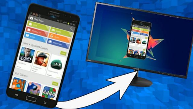 كيف تعرض شاشة هاتفك الاندرويد على الكمبيوتر بدون إستخدام USB