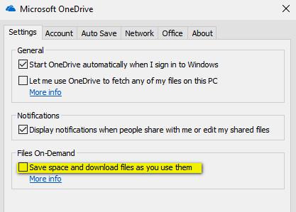 كيفية تحرير مساحة من القرص الصلب في ويندوز 10 باستخدام ملفات OneDrive Files On-Demand ؟