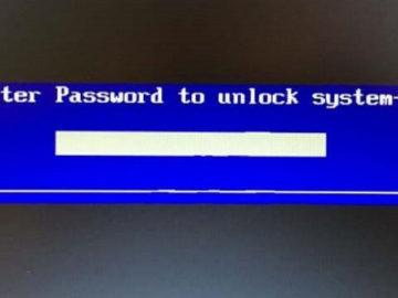 كيفية إعادة تعيين كلمة مرور البيوس BIOS بسهولة على ويندوز 10
