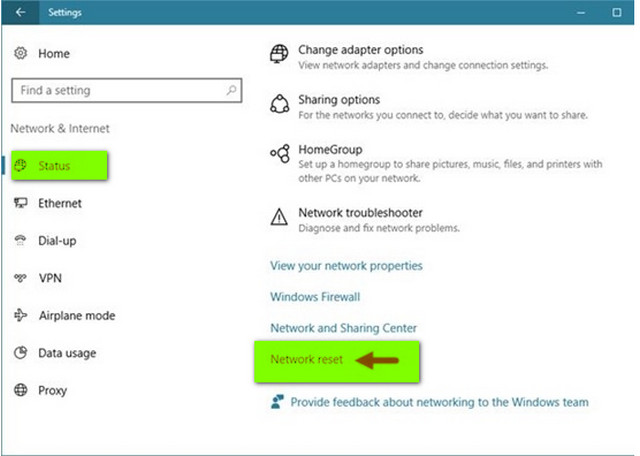 كيفية إعادة تعيين إعدادات الشبكة بشكل كامل على ويندوز 10