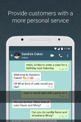 واتساب تطلق رسمياً تطبيقها الجديد للاعمال والشركات WhatsApp Business