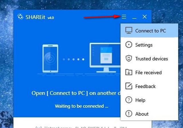 كيف تستخدم SHAREit لنقل الملفات الكبيرة الحجم بين جهازى كمبيوتر