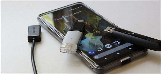 كيفية استخدام الفلاش ميموري USB مع هواتف الأندرويد