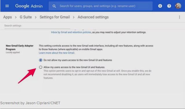كيفية الحصول على بريد الجيميل بالتصميم والخصائص الجديدة Gmail
