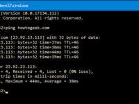 كيفية استخدام الأمر Ping لاختبار الشبكة الخاصة بك