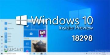 تعرف على أبرز المزايا الجديدة فى الاصدار القادم لويندوز 10- Insider Build 18298