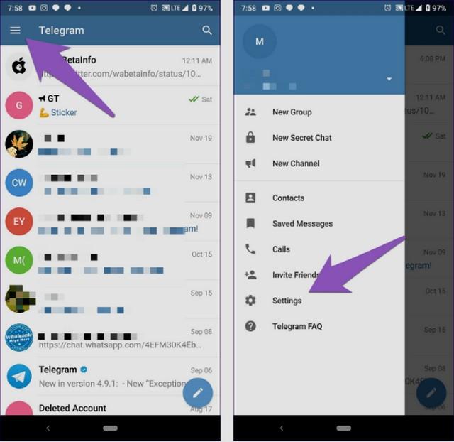 كيفية استخدام ملصقات تطبيق تيليجرام في الواتساب