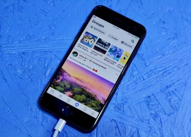 فيسبوك يطرح تصميم جديد لتطبيقها على الهواتف الذكية