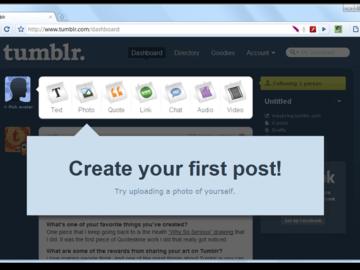كيفية إنشاء مدونة بسهولة على منصة تمبلر Tumblr